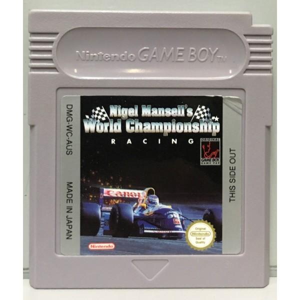 Nigel Mansell's World Championship Racing Gameboy